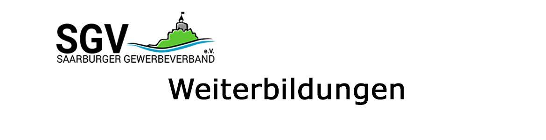 SGV: Weiterbildungen mit dem Saarburger Gewerbeverband