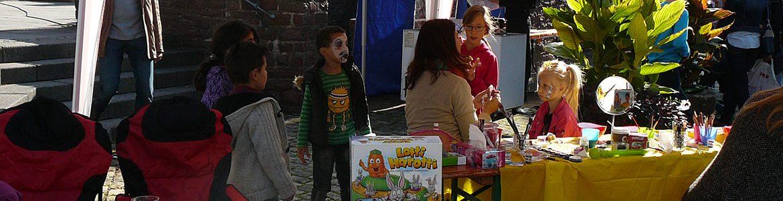 Kinderflohmarkt auf dem Boemundhof am Goldenen Oktober
