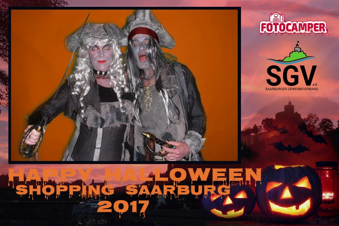 ++++Rückblick – Halloween Shopping in Saarburg 2017++++