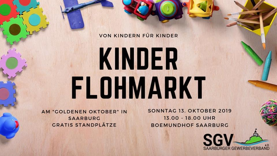 Kinderflohmarkt in Saarburg