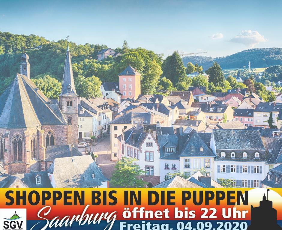 """""""Shoppen bis in die Puppen"""" am 4. September 2020"""