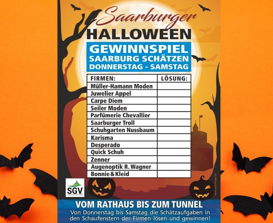 Saarburger Halloween Gewinnspiel 2020 – Openair