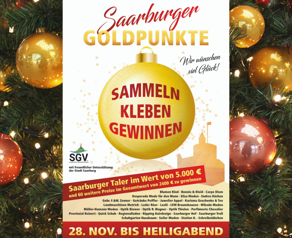 Saarburg punktet – Die neue Weihnachtsaktion ab 28. November bis Heiligabend